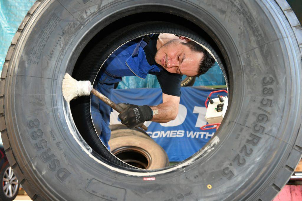 Lassen Sie Ihre Reifen vom Fachmann reparieren